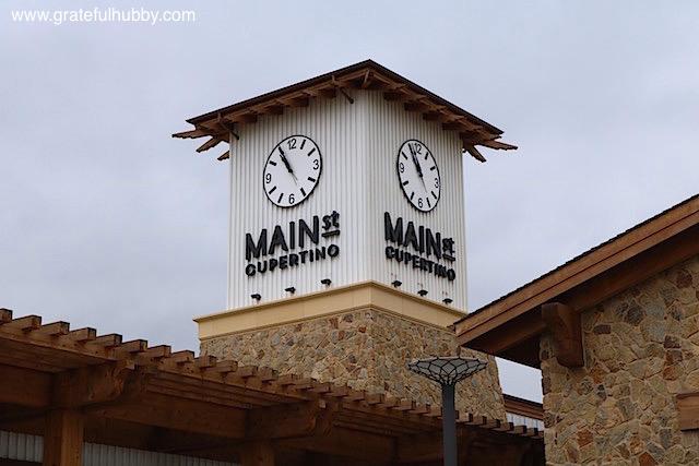 Main Street Cupertino Clock Tower