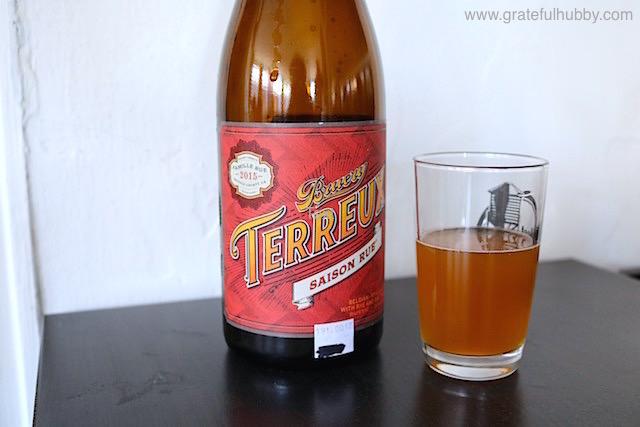 Bruery Terreux Saison Rue 2015, 8.5% ABV
