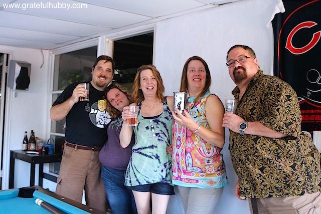 Cheers from Matt, Michelle, Michelle, Anne & Mike