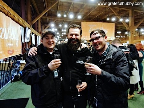 Rudy Kuhn (center) and friends at the 2013 SF Beer Week opening gala