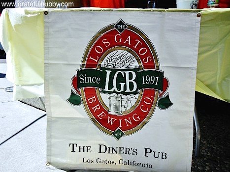 Los Gatos Brewing Company at the SJ Beerwalk in downtown Campbell