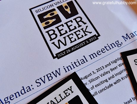 Following an initial meeting back in March, the First Annual Silicon Valley Beer Week takes place later this month