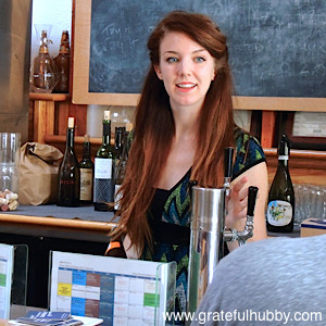 HELP ON TAP - Sommelier and beer lover Jenny Merit of Wine Affairs stands ready to find the right beer for every customer