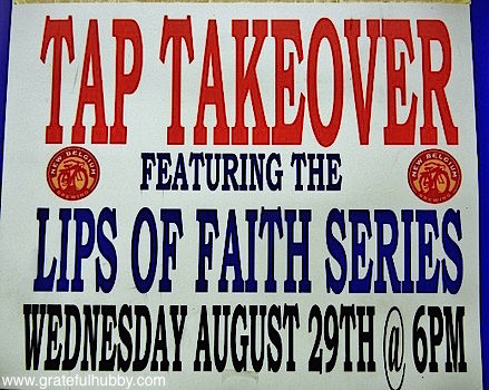Lips of Faith tap takeover at Harry's Hofbrau in San Jose