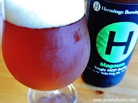 May 2013 - Hermitage Brewing Company releases Magnum Single Hop IPA