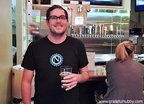 Original Gravity Public House bar manager and event coordinator Rob Monroe