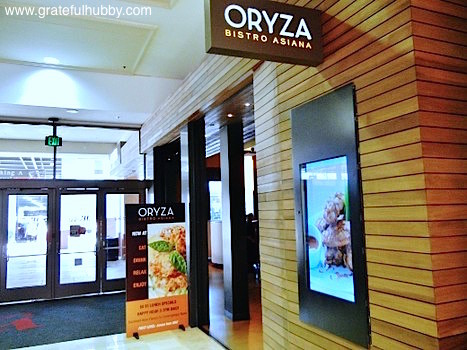 Oryza Bistro Asiana - one of the participating restaurants during Silicon Valley Restaurant Week 2012