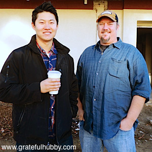 READY TO POUR - Steins owner Ted Kim and chef Colby Reade