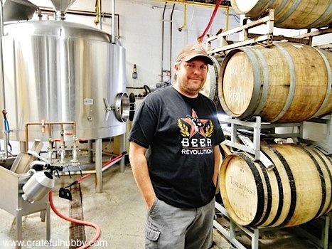 South Bay brewmaster Steve Donohue on his last day at FireHouse Brewery
