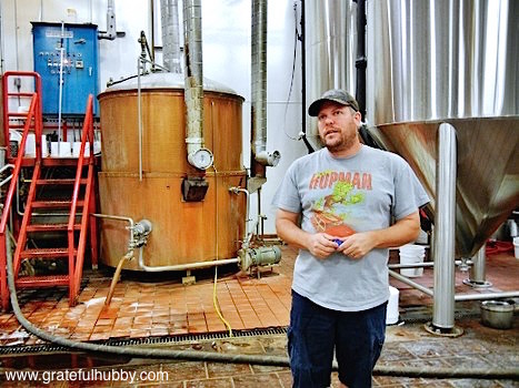 Steve Donohue at Hermitage Brewing Company