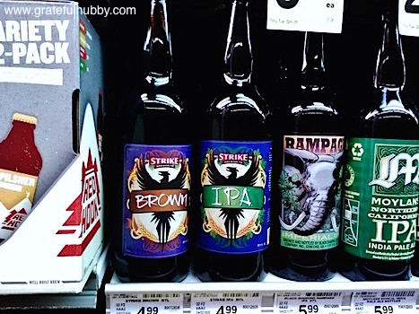 Strike Brewing Company Brown and IPA spotted at a local Safeway store