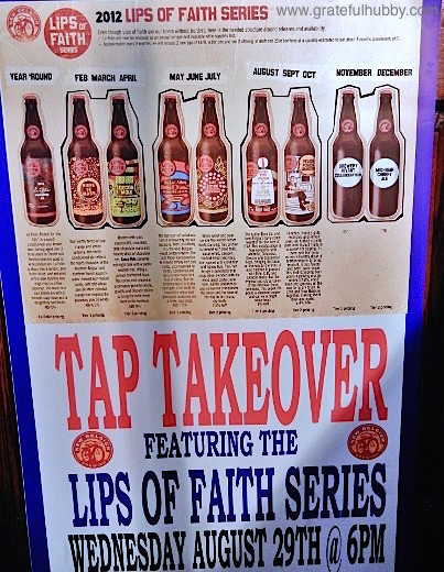 Tap takeover event at Harry's Hofbrau Featuring the Lips of Faith Series