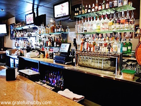The bar at Jack's Bar & Lounge, host of the second San Jose Beerwalk in Japantown