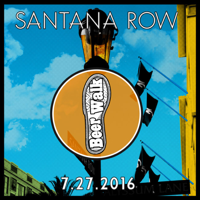 Santana Row Beerwalk 2016