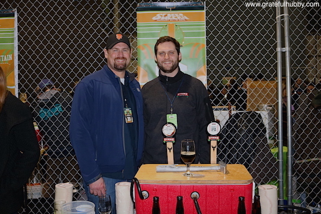 Strike Brewing Company's Drew Ehrlich (left) and Ryan Bridge