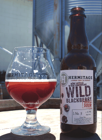 Hermitage Brewing Company Wild Blackberry American Sour
