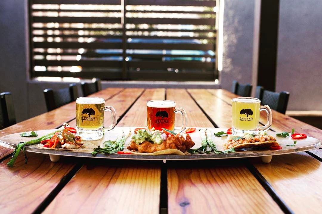 Steins Taco Beer Pairing Event