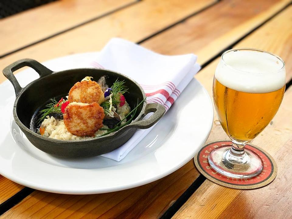 Sneak peek from Steins' upcoming beer dinner featuring Elkhorn Slough Brewing (credit: Steins)