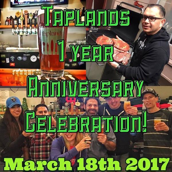 Tapland 1 Year Anniversary