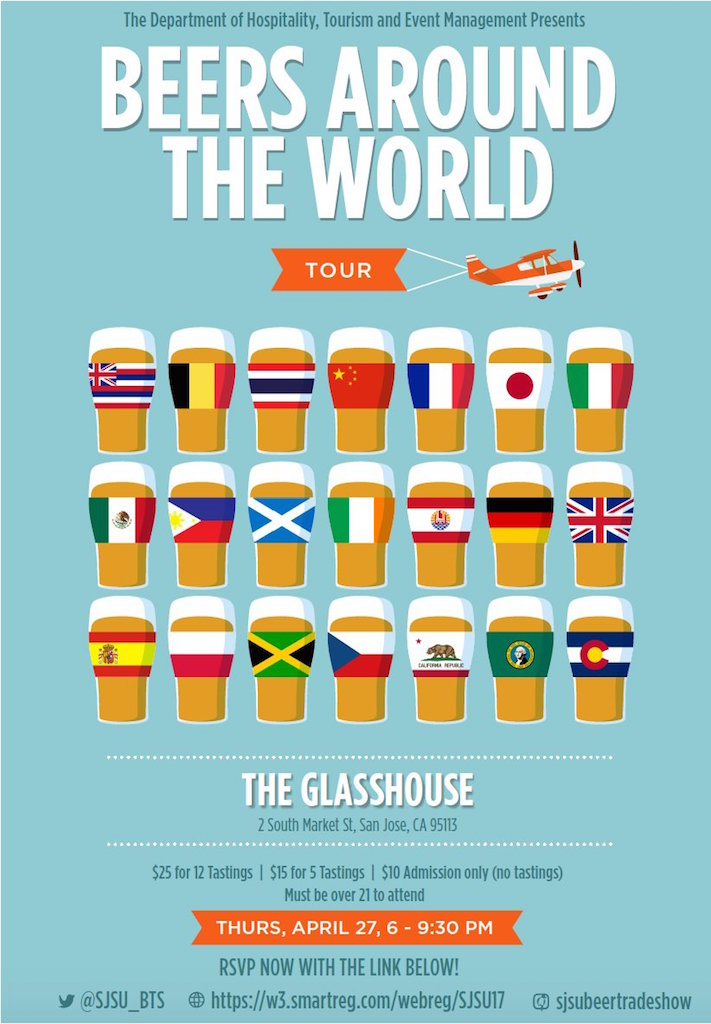 SJSU Beer Around the World Spring 2017