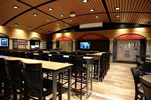 Tech-equipped education center will host classes and events focused on wines, beer and spirits (credit: Total Wine & More)