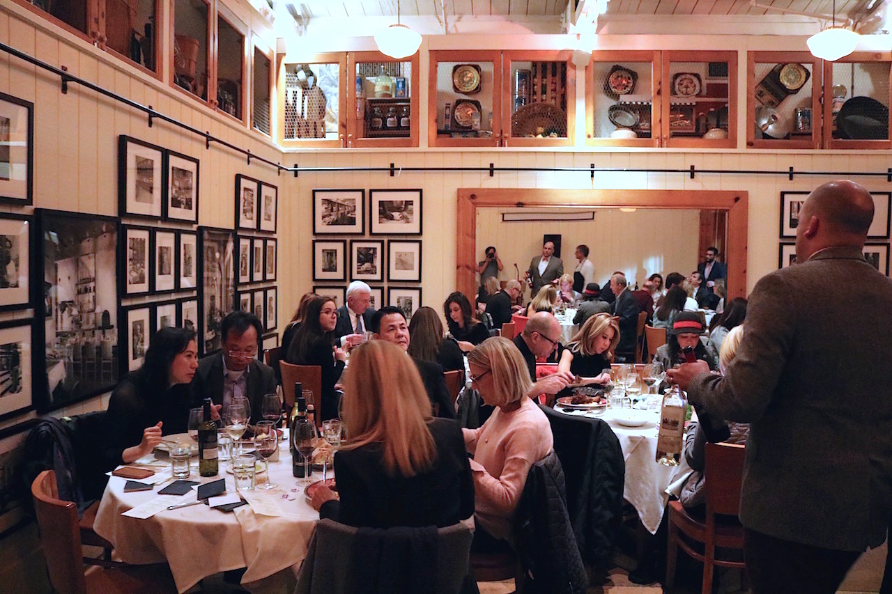 Scenes from Il Fornaio Burlingame Wine Dinner Featuring Round Pond